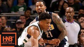 Denver Nuggets vs Milwaukee Bucks Full Game Highlights / Feb 15 / 2017-18 NBA Season