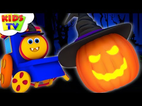 Halloween Beat Song  | Bob The Train Videos | Cartoon For Babies By Kids Tv