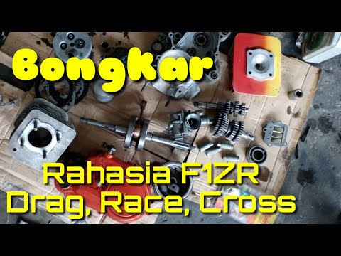 Bongkar Rahasia Korek F1ZR 116Cc Std Drag Bike