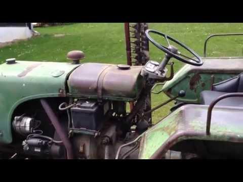 Polka mit Steyr Traktor