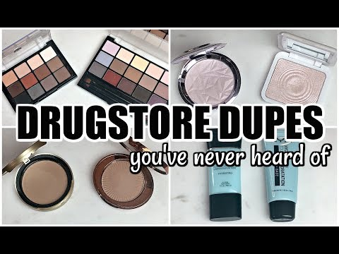 2017 DRUGSTORE DUPES You've Never Heard Of