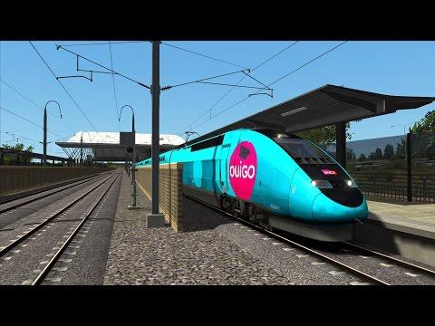 Train Simulator 2017/ TGV OUIGO / LGV Méditerranée - Marseille - Avignon/ Scénario France Simu