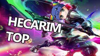 League of Legends - Hecarim Top Tuesday - Full Game Commentary