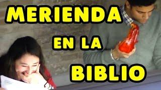 Comiendo ruidosamente en la biblio    Broma cámara oculta