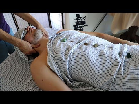 Massage Therapist Gives Full Body ASMR Massage | Clinical & Professional