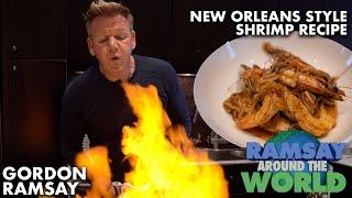 Gordon Ramsay&#39s Easy New Orleans Style BBQ Shrimp Recipe  Ramsay Around the World