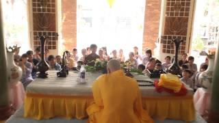 Khóa tu mùa he 2013 Chùa Thanh Sơn-Hốc môn.bài giảng về nhận diện lời nói:ĐĐ Thích Nguyên Thành.