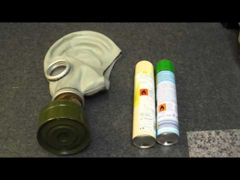Testing the GP5 Gas mask/Respirator