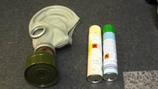 Testing the GP5 Gas mask/Respirator