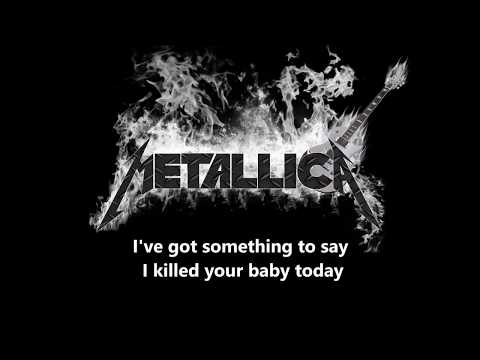 Metallica - Last Caress - Lyrics