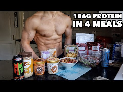 Full Day of Eating 1800 Calories | High Protein Low Calorie Muscle Building Diet...