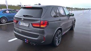 720HP BMW X5 M G-POWER vs BMW M5 vs Audi R8 V10 Plus!