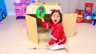 UMA CAIXA MÁGICA PARA BORAM  ♥ Boram pretend play with Magic Box