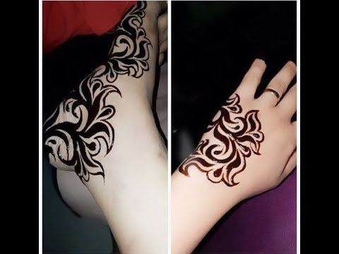 Simple Sudanese Henna Designs On Hands And Feet Arabic Mehndi