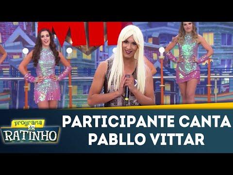 Participante Canta Música De Pabllo Vittar | Programa Do Ratinho (12/03/18)