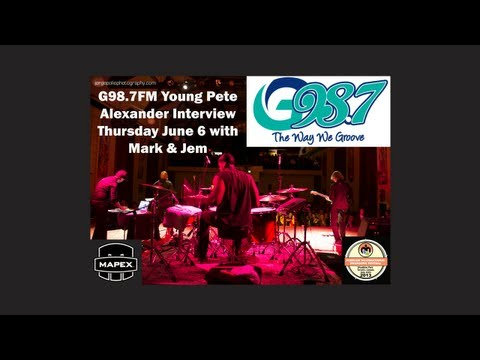 G98.7FM Young Pete Alexander Interview Thursday June 6 Mark & Jem