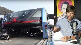 Tesla Model 3, Яндекс-колонка, Китайский автобус против пробок - новая рубрика, выпуск 6.