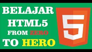 Tutorial part 6 cara memasukan gambar pada html5 bahasa indonesia