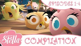 Angry Birds Stella Compilation | Season 1| Ep1-4