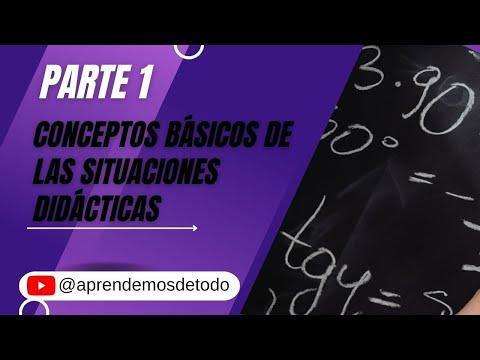 Download Parte 1 - CONCEPTOS BÁSICOS DE LAS SITUACIONES DIDÁCTICAS  - Mabel Panizza