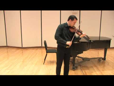 Bach Ciaconne - Alex Dzyubinsky