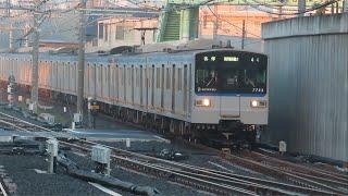 相鉄新7000系7753F羽沢横浜国大折り返し運転