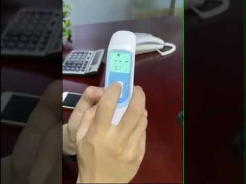 E103 비접촉식 체온계 귀 이마 체온 측정기 CE인증 신생아