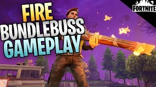 FORTNITE - Level 130 Brightcore Fire Bundlebuss Explosive Assault Rifle Save The World Gameplay