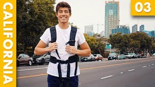 MY FIRST DAY OF SCHOOL! California Vlog 02 | Marcello Ascani
