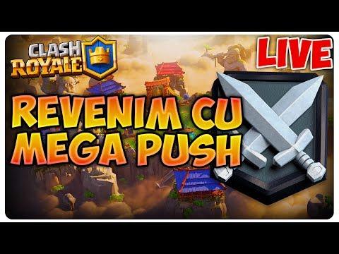 Push spre CH2 | Clash Royale [LIVE#84] thumbnail