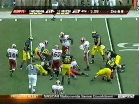 2009: Michigan-36 Indiana-33