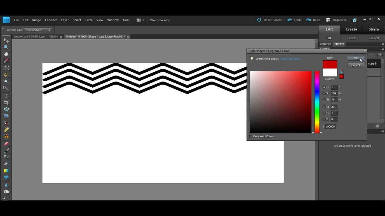 How to make a logo in photoshop elements 9
