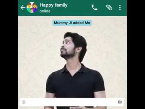 Real situation of a family WhatsApp group.....