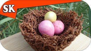 Chocolate Easter Nest - Easter Recipe