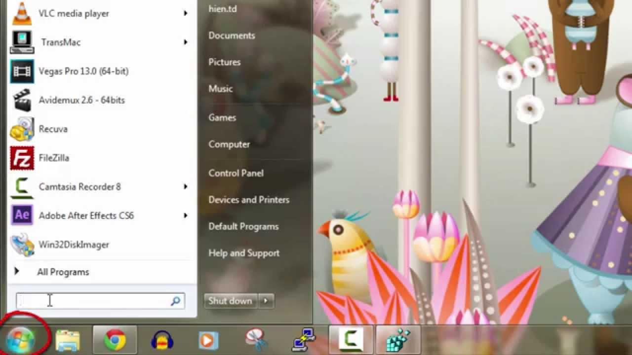 Cách thay đổi hình nền khởi động của Windows 7