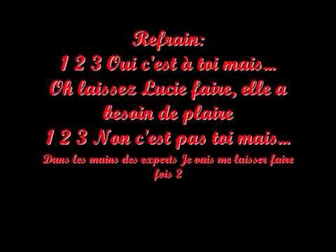 1 2 3 Dracula Lyrics.