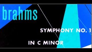 Brahms / Hermann Scherchen, 1953: Symphony No. 1 in C Minor, Op. 68 - Original Vinyl LP