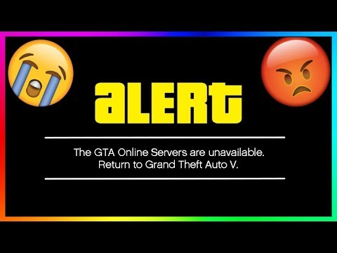 GTA 5 ONLINE SERVER IS DOWN! (WARNING)