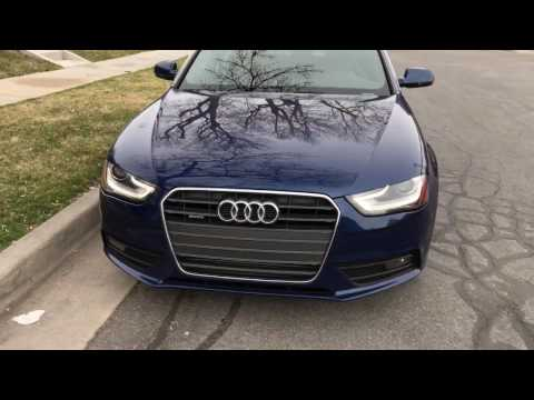 2013 Audi A4 2.0T Quattro | Overview and Startup