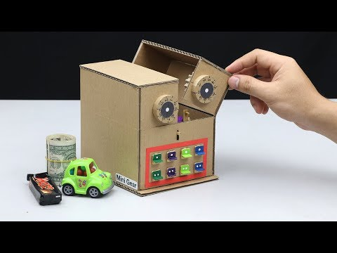 Build My Personal Safe From Cardboard At Home