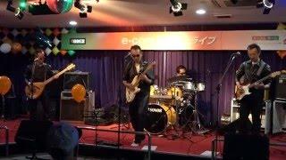 e-comライブでのキャロルさん(岡山のバンド)の演奏 ギターもヴォーカ...