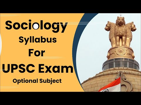 Sociology Syllabus For UPSC Exam || नागरिक सास्त्र syllabus || UPSC Exam || Prabhat Exam