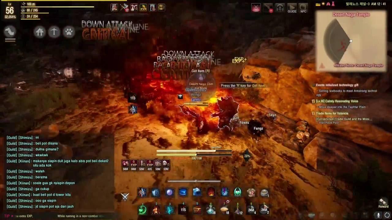 Black Desert Online Wizard Awakening