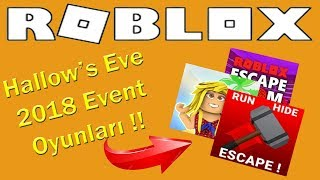 Hallow's Eve 2018 Eventi'nin OYUNLARI !! | Roblox Hallowen 2018 Event