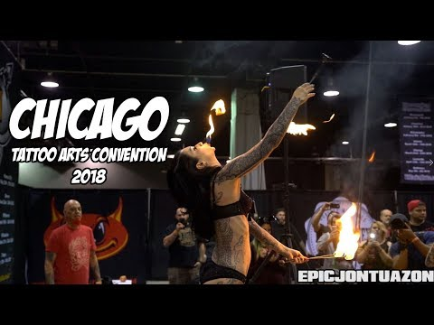 Chicago Tattoo Arts Convention 2018 | Villain Arts