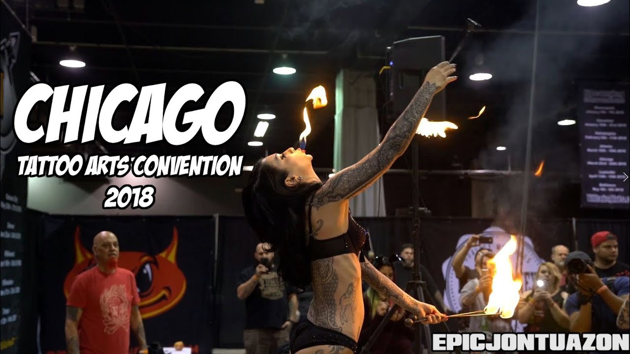 chicago tattoo arts convention 2018 villain arts youtube