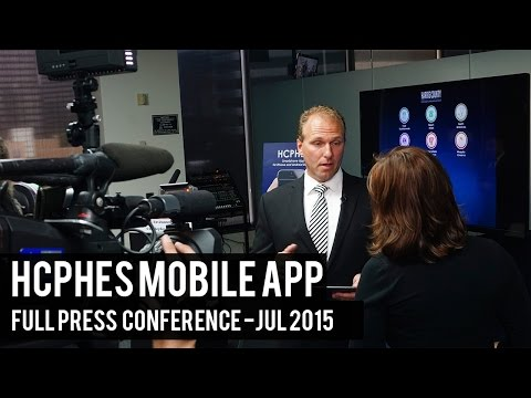 HCPH Mobile App: Full Press Conference