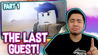 THE BEST MOVIE ON ROBLOX!!! *REACTING TO THE LAST GUEST IN ROBLOX PART 1*