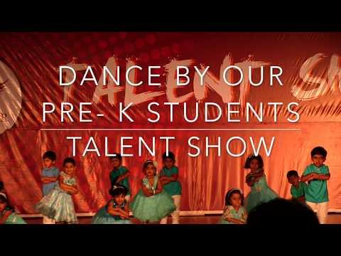 Pre K Dance Talent Show - Candor International School, Bangalore
