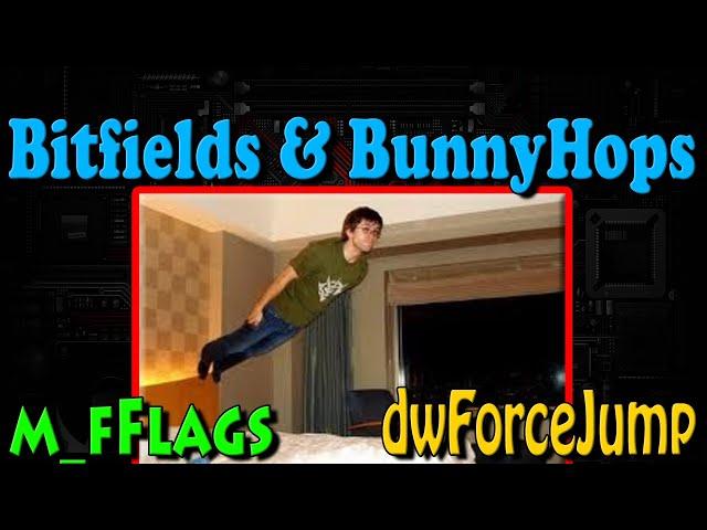 dwForceJump Bitfields & BitFlags - CSGO BunnyHop Tutorial